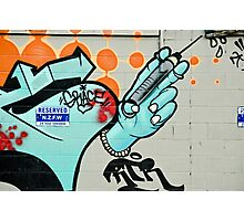Graffiti Injection Photographic Print