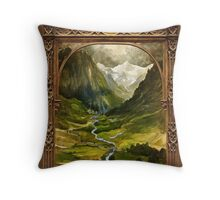 The Ring is taken to Rivendell Throw Pillow