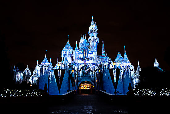 Disneyland Castle by Jsprentallphoto