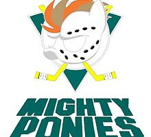Mighty Ponies  by SallyDunfee