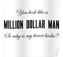Lana Del Rey Million Dollar Man Poster