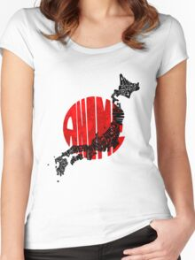 ANIME!!! Women's Fitted Scoop T-Shirt