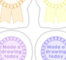 Daily Drawing Motivational Stickers Sticker