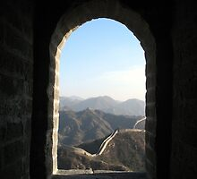 Great Wall, China by John Douglas
