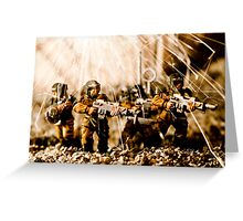 Modern Battle Field Greeting Card