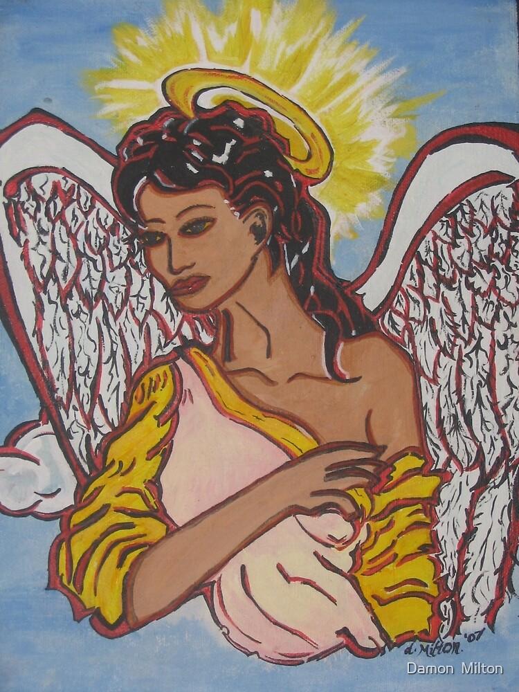 My Lovely Nubian Angel by damon  milton