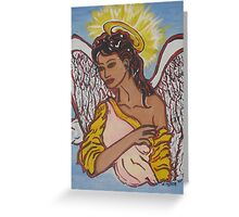 My Lovely Nubian Angel Greeting Card
