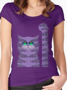 CARLOS THE CAT Women's Fitted Scoop T-Shirt