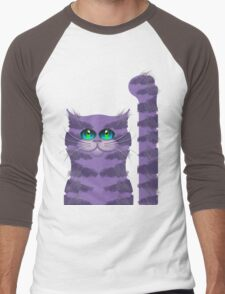 CARLOS THE CAT Men's Baseball ¾ T-Shirt