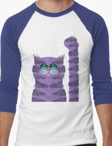 CARLOS THE CAT Men's Baseball ¾ T-Shirt