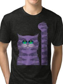 CARLOS THE CAT Tri-blend T-Shirt