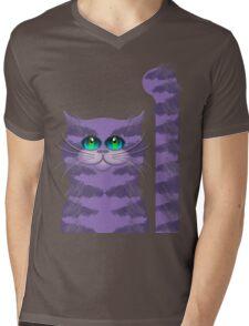 CARLOS THE CAT Mens V-Neck T-Shirt