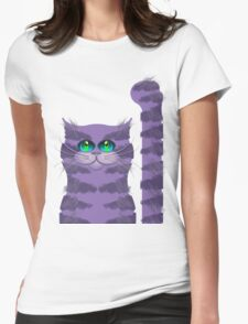 CARLOS THE CAT Womens Fitted T-Shirt