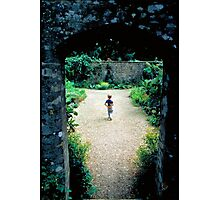 The Boy and the Secret Garden Photographic Print
