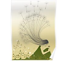 * the girl with dandelion hair * Poster