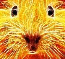 Fiery Mouse by Mikhail Palinchak