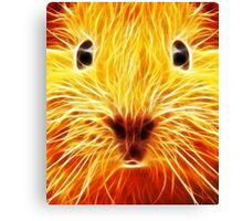 Fiery Mouse Canvas Print