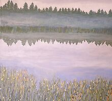 On Blue Pond by Lynne Kells (earthangel)