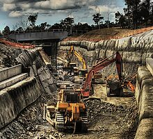 How to build a railway tunnel... by Murray Swift