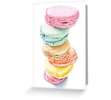 Macarons Greeting Card