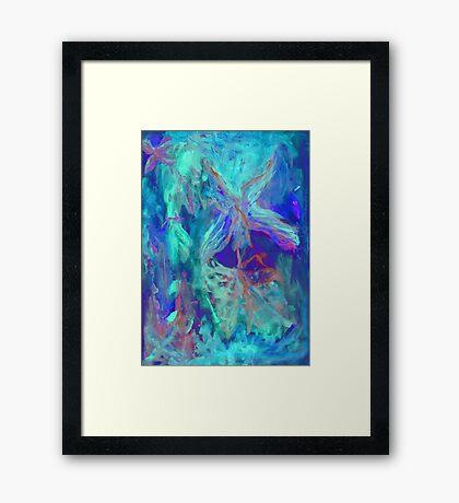 Soul flight Framed Print