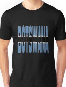 Botswana flag Unisex T-Shirt