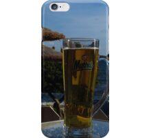 Beach Umbrellas & Mythos Beer iPhone Case/Skin