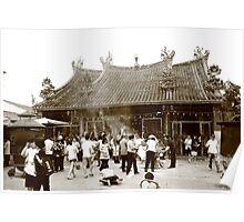Penang Temple Poster