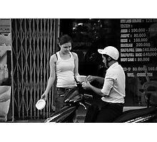 Vietnam Couple Photographic Print