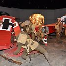 WW1, plane destroyed, diorama by bazcelt