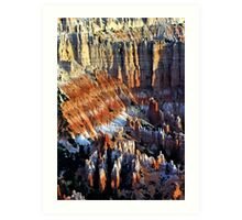 Colorful Formations - Bryce Canyon National Park - Utah - U.S.A Art Print