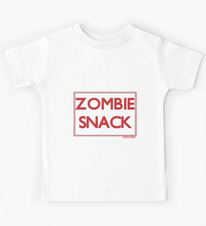 Zombie snack pack Kids Tee