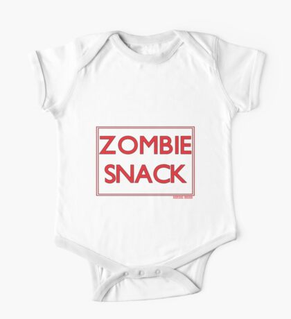 Zombie snack pack One Piece - Short Sleeve