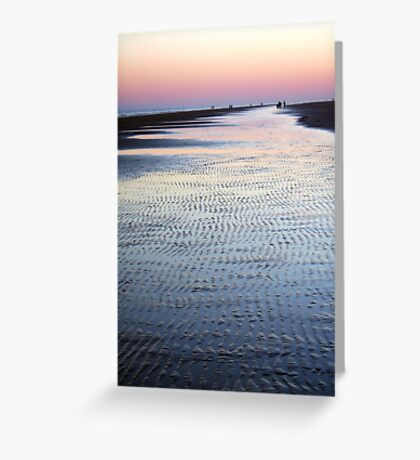 Tide Going Out... Greeting Card