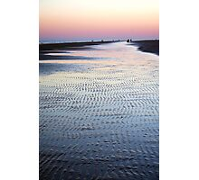 Tide Going Out... Photographic Print