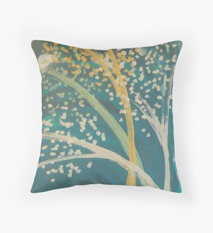 Swaying in the Wind Throw Pillow
