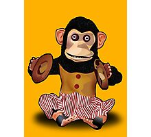 Clapping Monkey Photographic Print