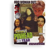 Odd Woman Out Canvas Print