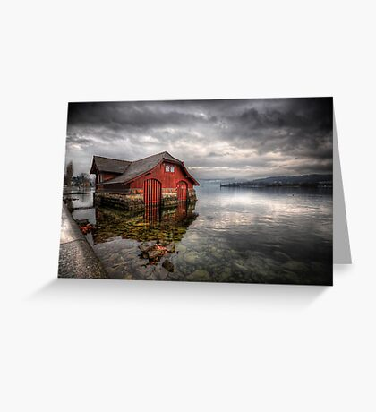 Life On The Lake Greeting Card