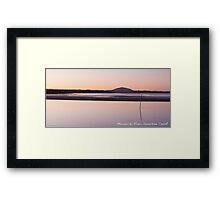 Maroochy River, Sunshine Coast Framed Print