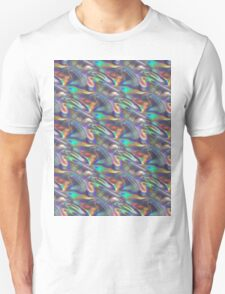 silver holographic T-Shirt