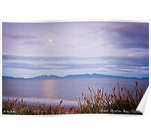 Great Oyster Bay, Tasmania Poster