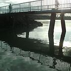 Reflections of Redland Bay Jetty  by CeciliaMay