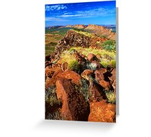 East MacDonnell Ranges Greeting Card