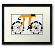 Pi Bike Framed Print