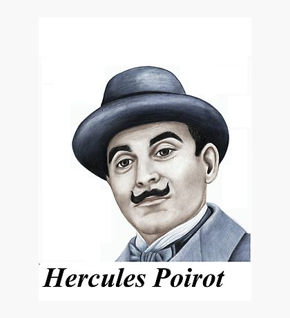 Hercules Poirot : Pointing the finger of blame 659 views Photographic Print