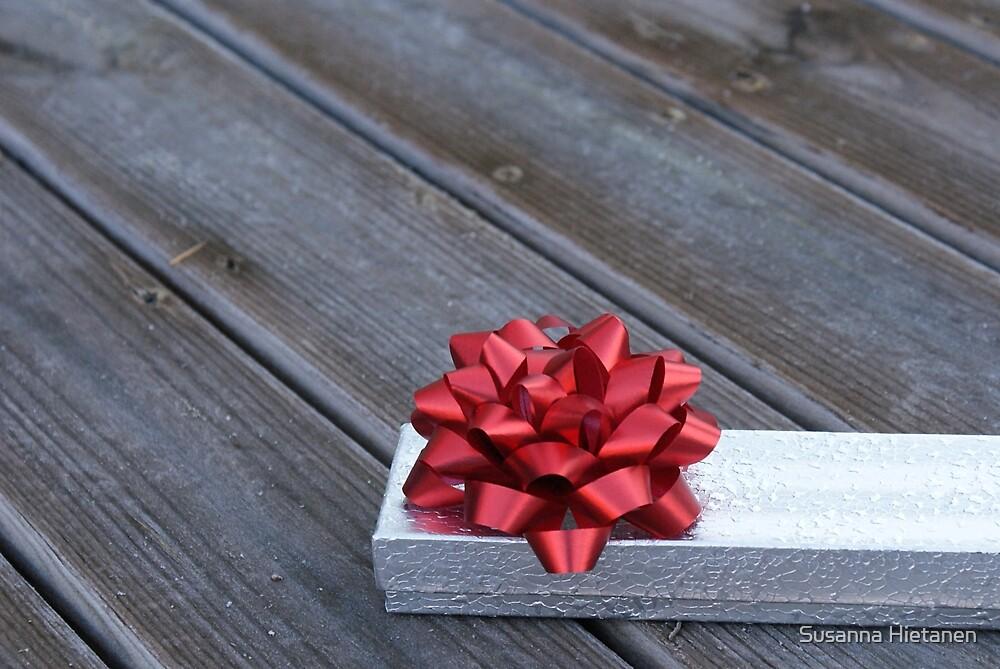 A piece of Christmas outdoors by Susanna Hietanen