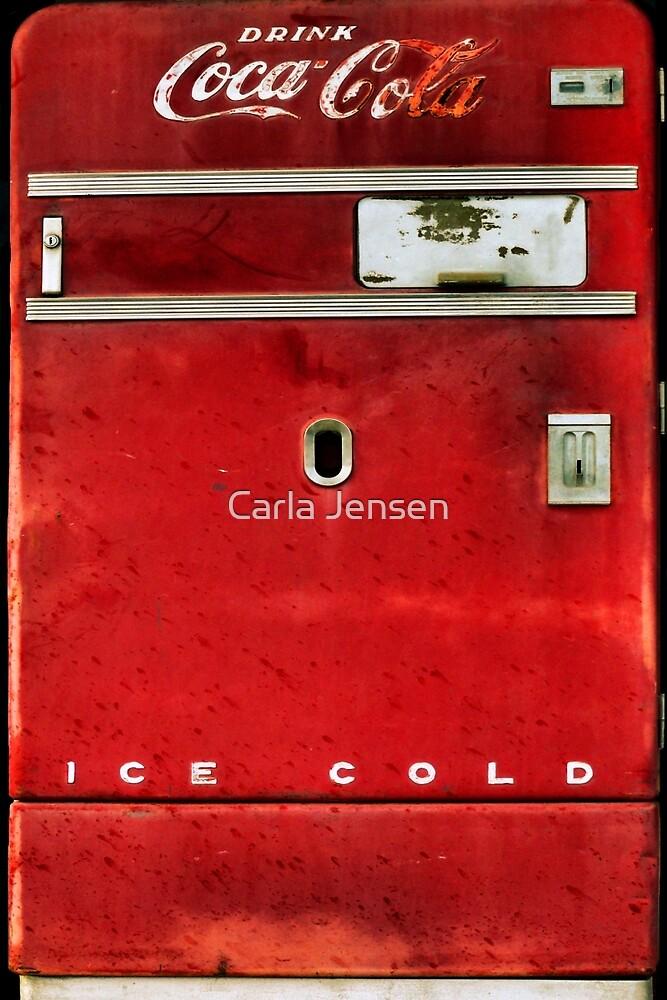 Old Coca-Cola Machine by Carla Jensen
