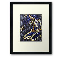 happiness in slavery Framed Print