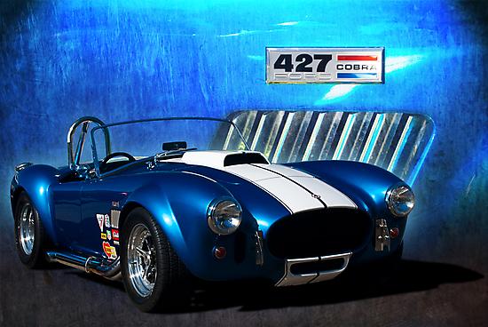 Blue Cobra by Stuart Row